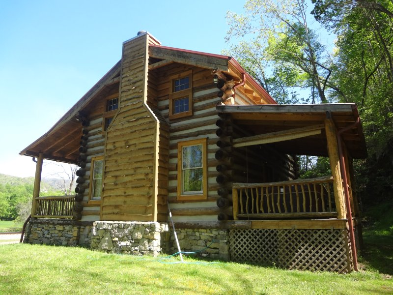 The Limestone cabin!  - Private mountain vacation cabin with a hot tub! - Hot Springs - rentals