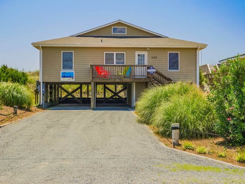 FOUR BY THE SHORE - Image 1 - Topsail Beach - rentals