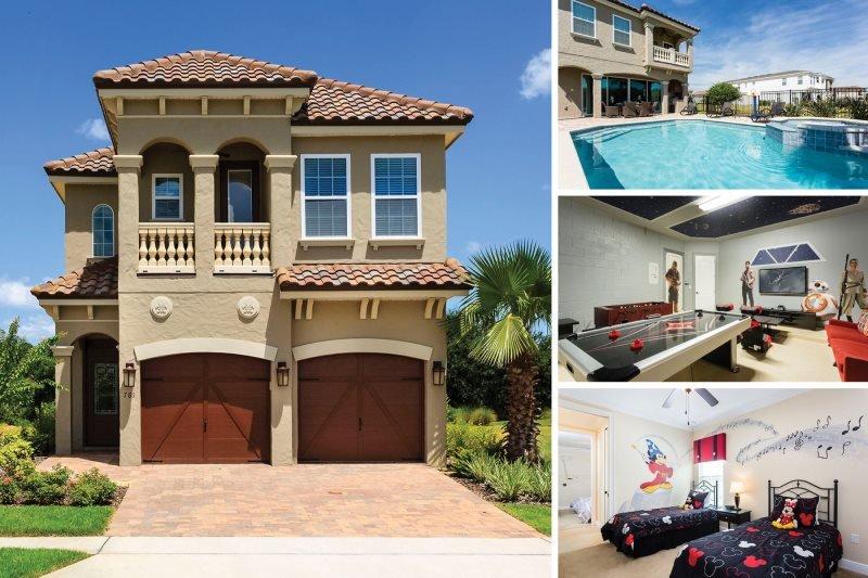 Showcase Villa | Luxury Pool Villa Featuring Two Disney Themed Bedrooms, Summer Kitchen, Pool Table, Air Hockey & Foosball - Image 1 - Kissimmee - rentals