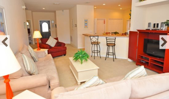Disney 4 Bedroom 3 Bath Pool Home. 113SPW - Image 1 - Four Corners - rentals