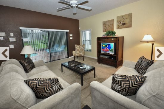 4 Bedroom 2.5 Bath Disney Area Pool Home. 16605CBW - Image 1 - Four Corners - rentals