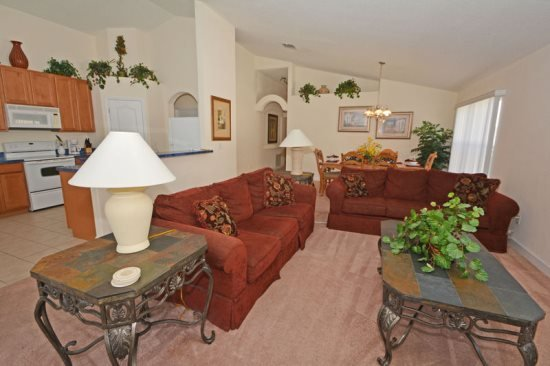 4 Bedroom 3 Bath Pool Home with Games Room. 621OBC - Image 1 - Davenport - rentals