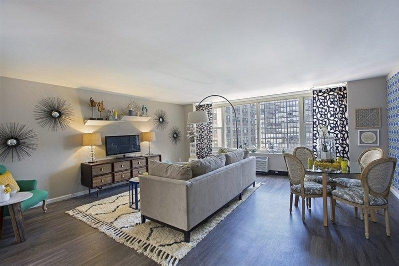 Furnished 2-Bedroom Apartment at E Chestnut St & N Dewitt Pl Chicago - Image 1 - Chicago - rentals