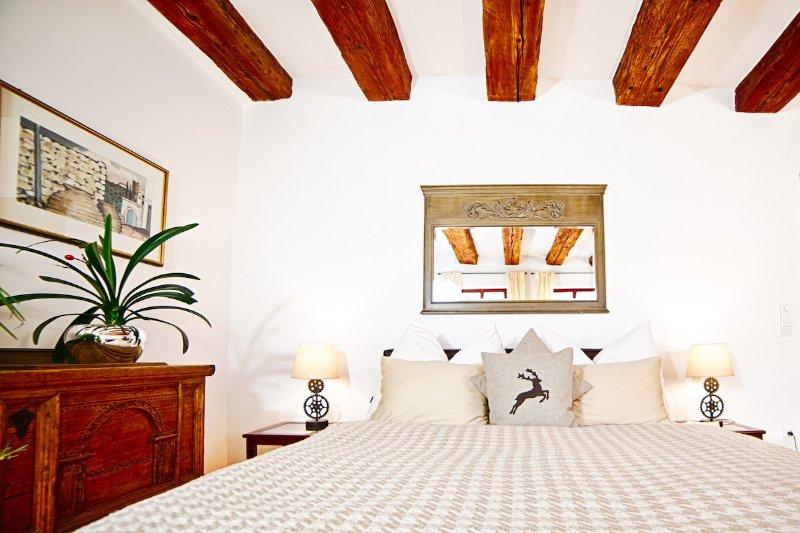 comfortable large queen size bed - (2) Stylish apartment, historic centre, quiet - Salzburg - rentals