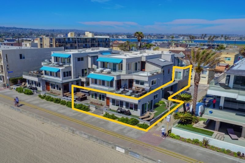 Bluewater Ocean Front One South - Image 1 - Pacific Beach - rentals