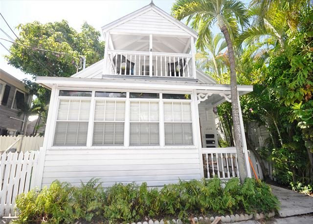 Front of House - Escape On Fleming: A charming 2 bedroom home - Key West - rentals