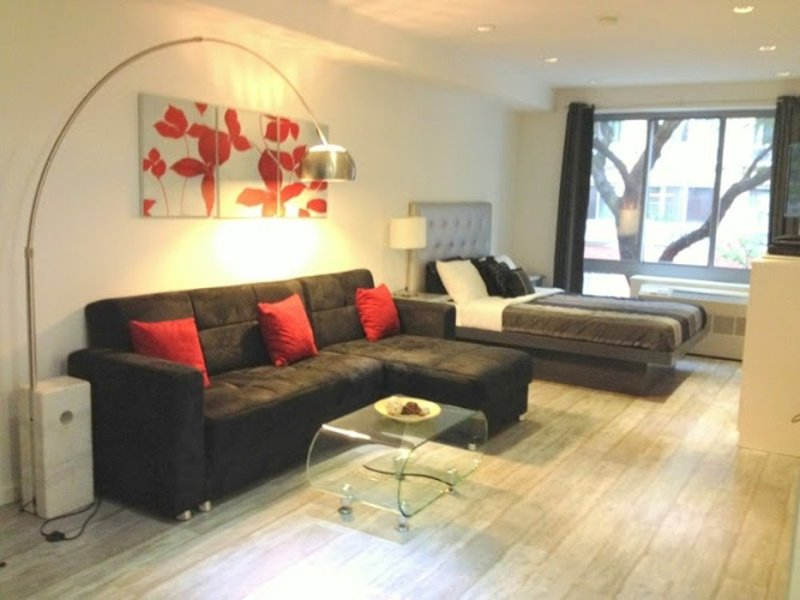 Furnished Studio Apartment at 9th Ave & W 49th St New York - Image 1 - New York City - rentals