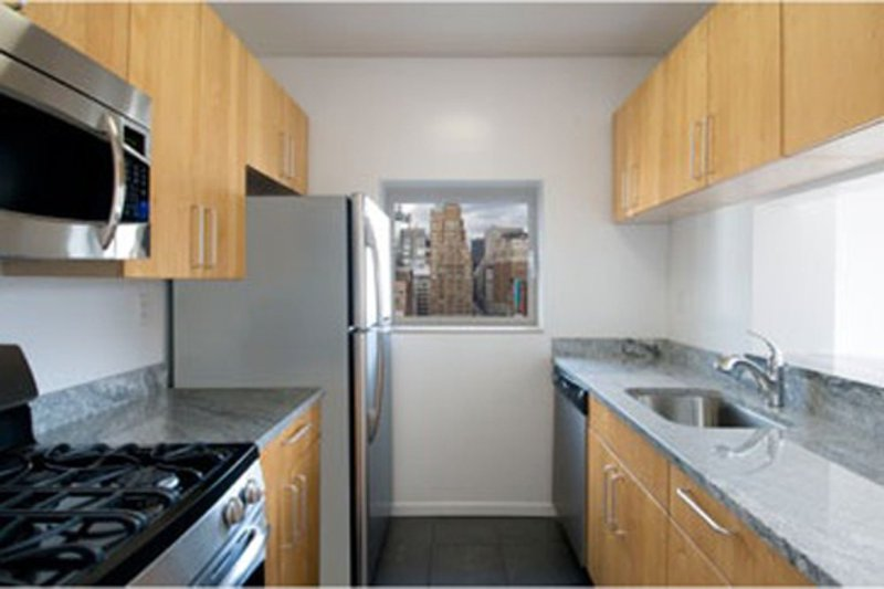 Furnished 1-Bedroom Apartment at 7th Ave & W 26th St New York - Image 1 - Hoboken - rentals