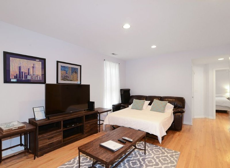 Furnished 2-Bedroom Apartment at W Diversey Pkwy & N Seminary Ave Chicago - Image 1 - Chicago - rentals