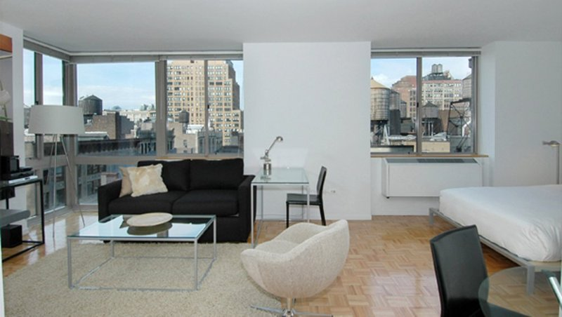 Furnished Studio Apartment at 7th Ave & W 26th St New York - Image 1 - Hoboken - rentals