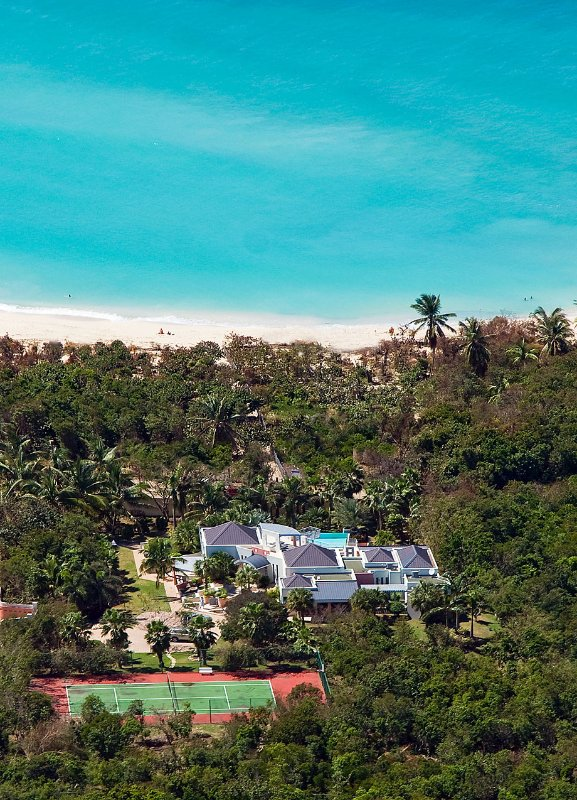 Modern Villa, Ideal for Couples & Groups, Short Walk to the Beach, Private Pool & Tennis Court - Image 1 - Terres Basses - rentals