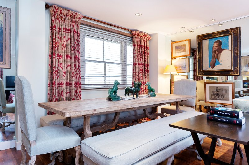 Stunning two bedroom apartment, in Grosvenor Gardens sleeps four, beautiful London apartment - Image 1 - London - rentals