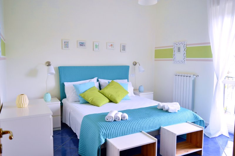 Matrimonial Bedroom - Camera Matrimoniale - New Holiday Rentals i Normanni - Salerno - Salerno - rentals