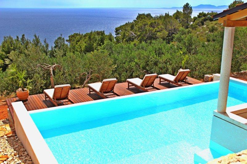 Villa Perka-tranquil spot in beautiful setting - Image 1 - Sveta Nedelja - rentals