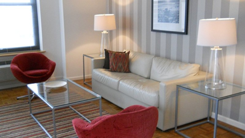 Furnished 1-Bedroom Apartment at Christopher Columbus Dr & Grove St Jersey City - Image 1 - Jersey City - rentals