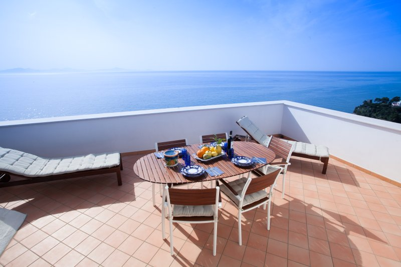 Amalfi Coast House Overlooking the Sea near Amalfi  - Lavinia - Image 1 - Amalfi - rentals