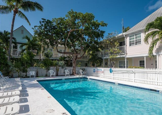 LAZY LANE  - Cute Shipyard Condo w/ Color and Style from Front to Back - Image 1 - Key West - rentals