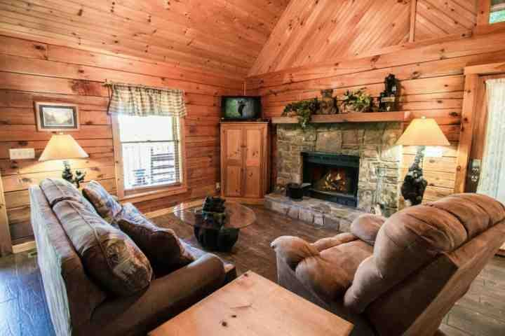 Cozy Cottage ~ Romantic Getaway! Private Jacuzzi, Cozy Fireplace! - Image 1 - Pigeon Forge - rentals