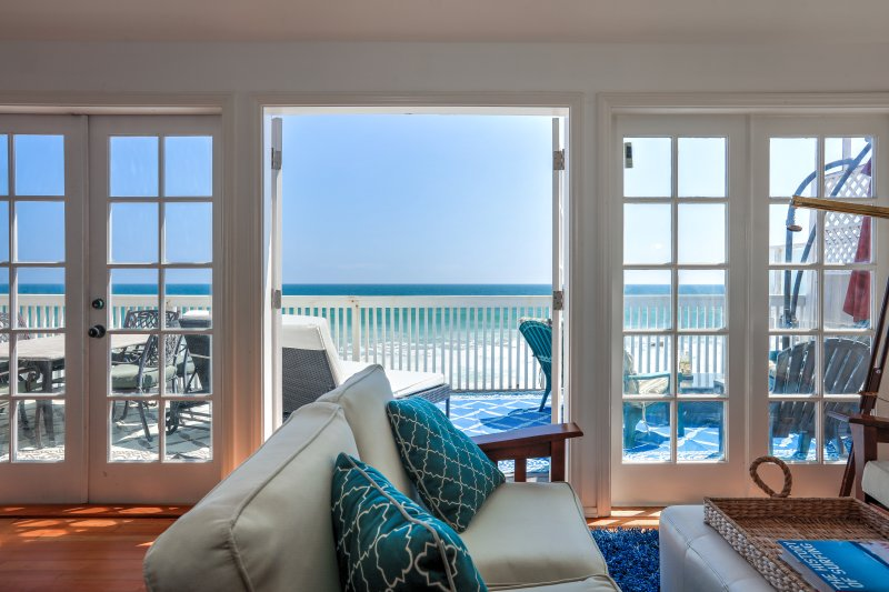 Oceanfront Malibu Cottage on Private Sandy Beach - Image 1 - Malibu - rentals