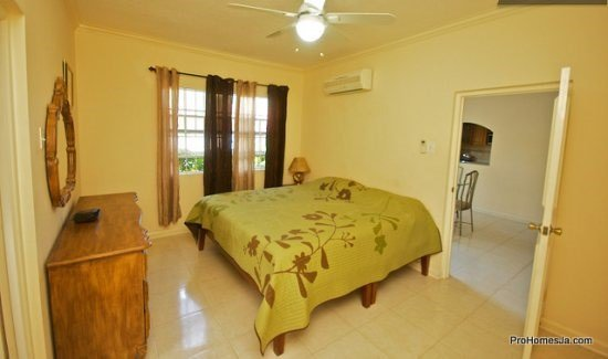 Rest your head on this King size bedroom - Kingston Jamaica Modern Vacation Apartment - Saint Andrew Parish - rentals