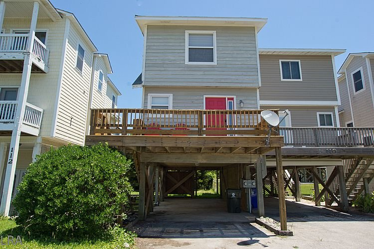 Exterior - Fenway South - Cozy Island Interior unit with Sound views - North Topsail Beach - rentals