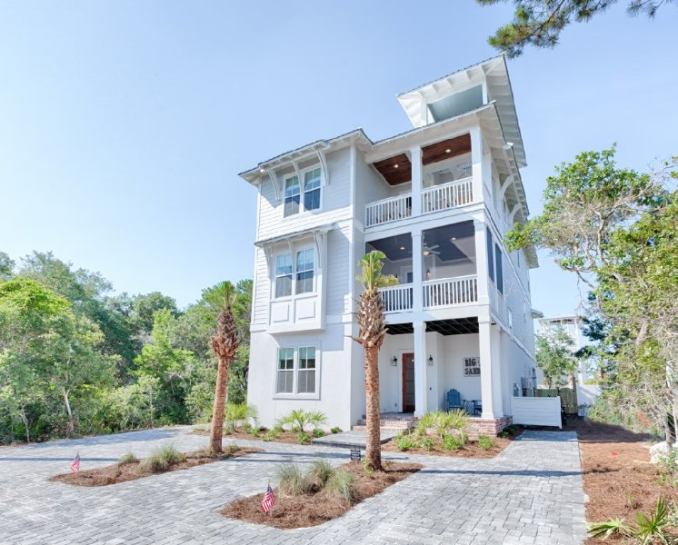 Welcome to Big Sandy in Seagrove - Big Sandy:Brand NEW Luxury Home! Steps to Beach - Santa Rosa Beach - rentals