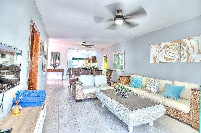 Scenic 3 Bedroom Oceanfront Apartment S-L202 - Image 1 - Bavaro - rentals