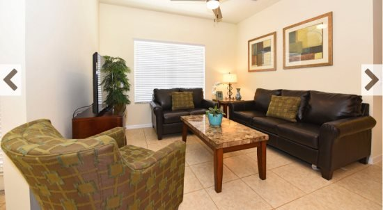 2 Bedroom 2 Bath Oakwater Resort Townhome. 7514PW - Image 1 - Kissimmee - rentals