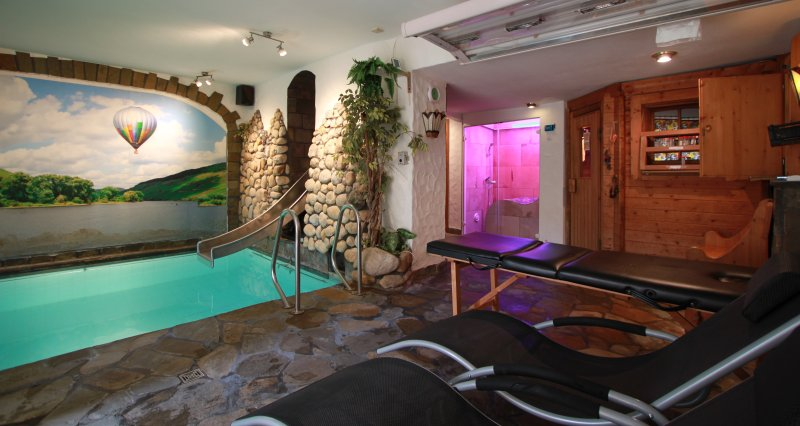 The spa in the souterrain with indoor pool, sauna, steamcabin sunbed. For you private exclusive use! - luxury condo with privat pool & sauna & steam bath - Zell (Mosel) - rentals
