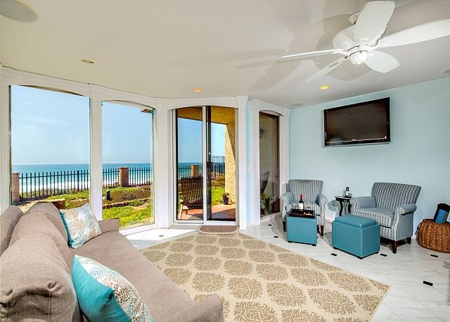 Oceanfront 1 BR Premium Del Mar Shores Terrace - Image 1 - Solana Beach - rentals