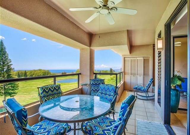 Covered Lanai with Ocean Views - Waikoloa Fairways A310 - Waikoloa - rentals