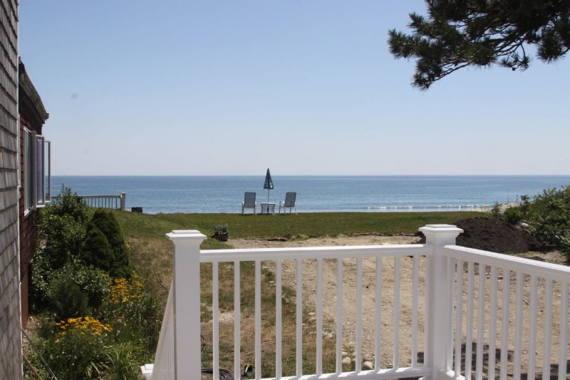 Just steps from the beach - Prime ocean front location on Duxbury Beach - Duxbury - rentals