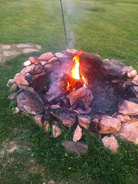 Fire Pit - Mountain View Manor - Jefferson - rentals