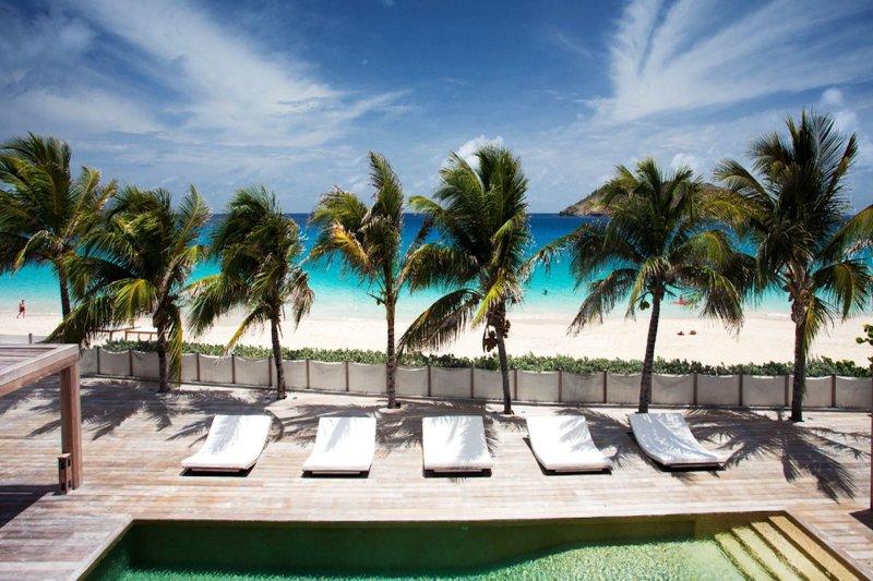 Luxury 6 bedroom St. Barts villa. Private beachfront property! - Image 1 - Flamands - rentals