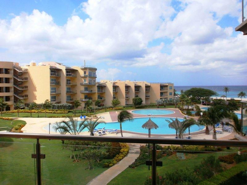 Breathtaking ocean view from your balcony! - Bella Vista Two-bedroom Condo - BC356 - Eagle Beach - rentals