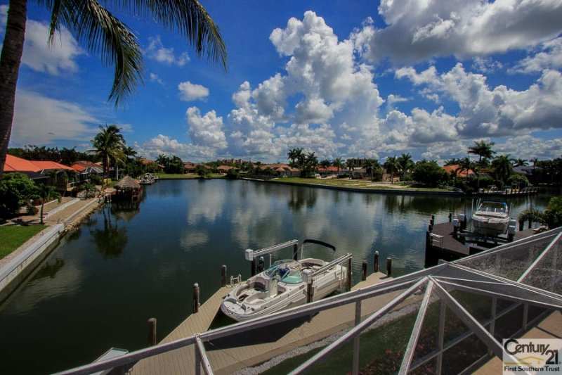 View from Balcony - Caribbean748 - 748 Caribbean Ct. - Marco Island - rentals