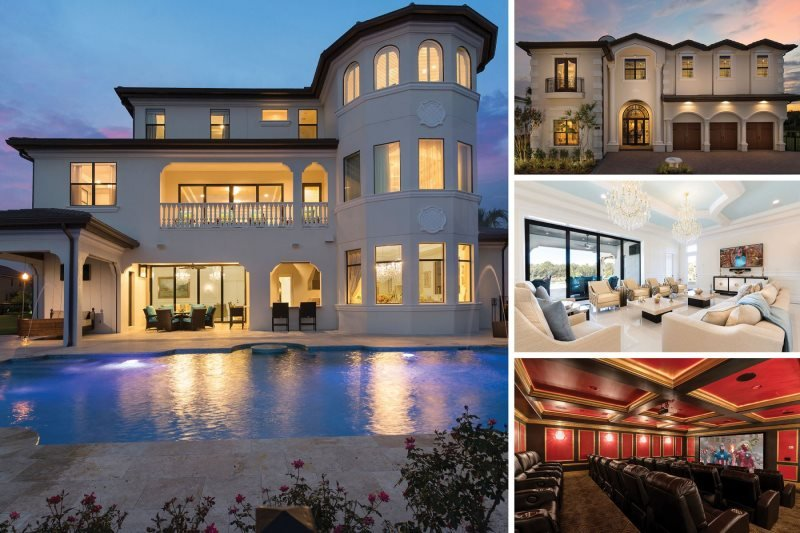 The Palace | 11,700 sq. ft. 13 Bed Ultimate Luxury Villa with Custom Pool, Private Gym, Theater Room, Games Room & Sports Hall - Image 1 - Kissimmee - rentals