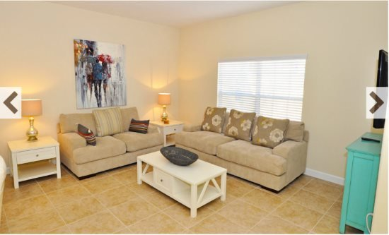 Paradise Palms Resort 4 Bedroom 3 Bath Townhouse. 8939CPR - Image 1 - Four Corners - rentals
