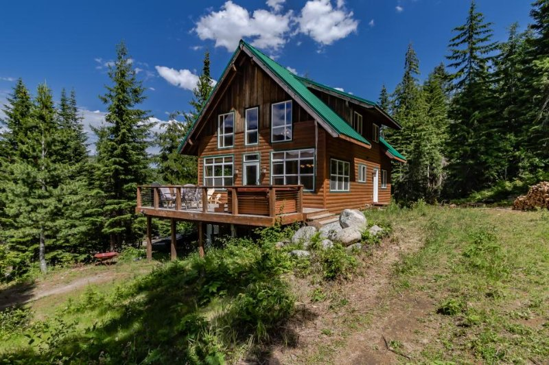 Dog-friendly woodland cabin offering a private hot tub, near skiing/hiking! - Image 1 - Plain - rentals