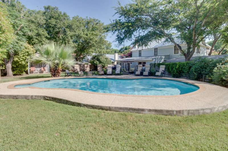 Historical charm and a modern renovation await. Dog-friendly & private pool! - Image 1 - Fredericksburg - rentals