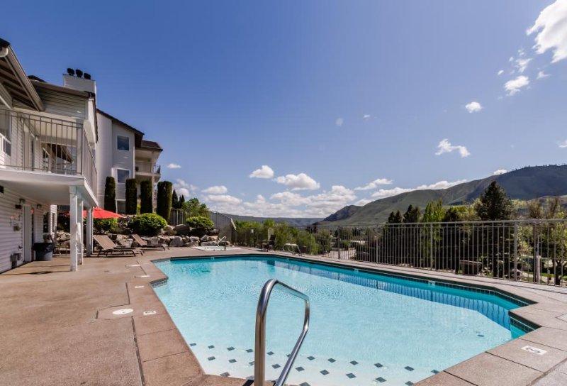 Cozy family-friendly condo w/pool & hot tub access, stunning lake views! - Image 1 - Chelan - rentals