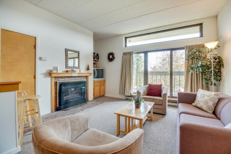 Condo w/mountain views + shared hot tub, pool & more! Near golf, slopes! - Image 1 - Killington - rentals