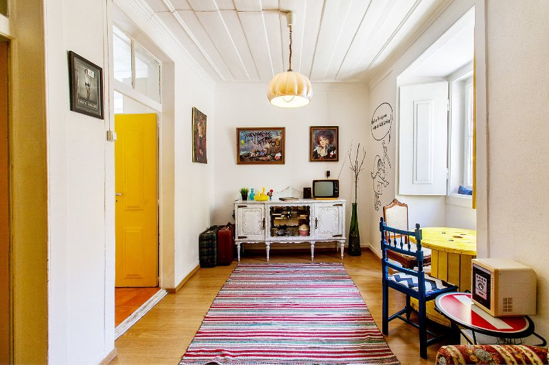Living Room - Groovy apartment with amazing view - Lisbon - rentals