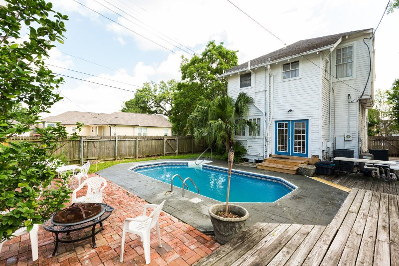 The Pool - Uptown Gem-Four Bedroom with Pool - New Orleans - rentals