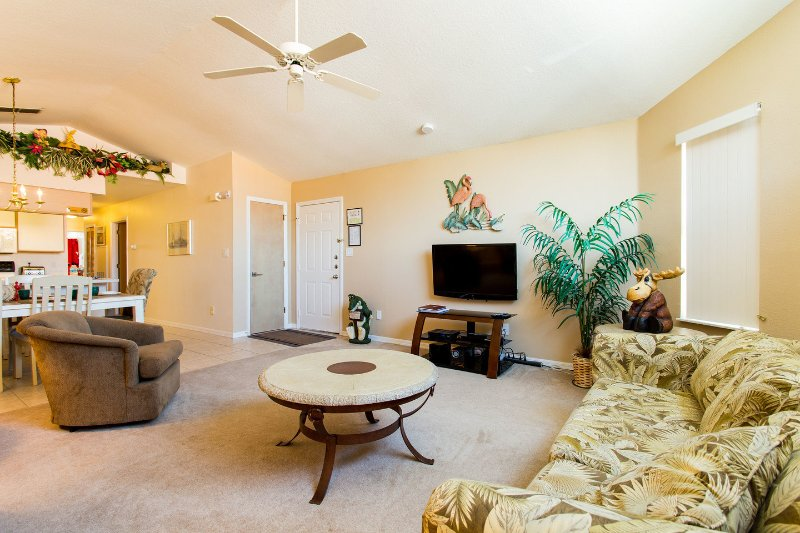 Living Room - So Close You Can Hear the Fireworks - Kissimmee - rentals