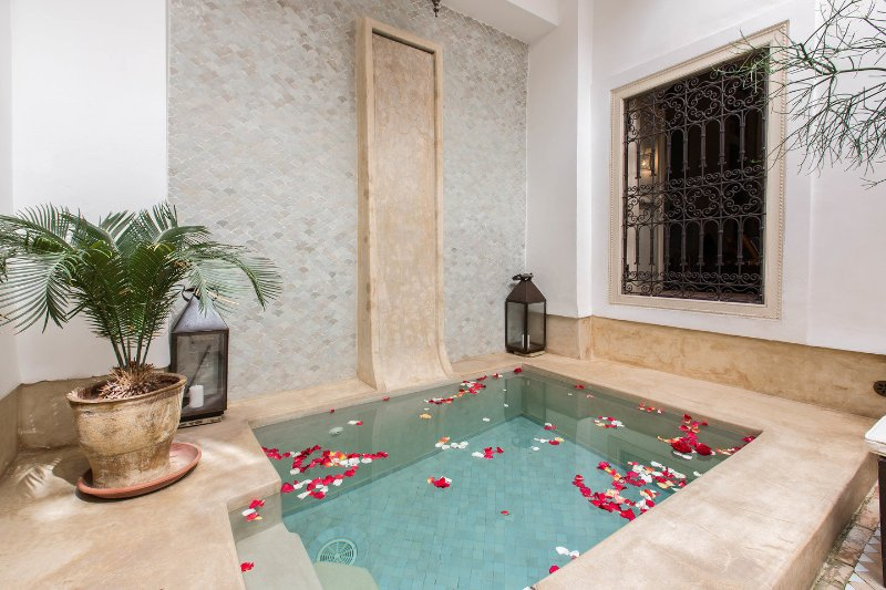 The Pool - RIAD ETHNIQUE PRIVATE RENTAL WI-FI POOL IN MEDINA - Marrakech - rentals