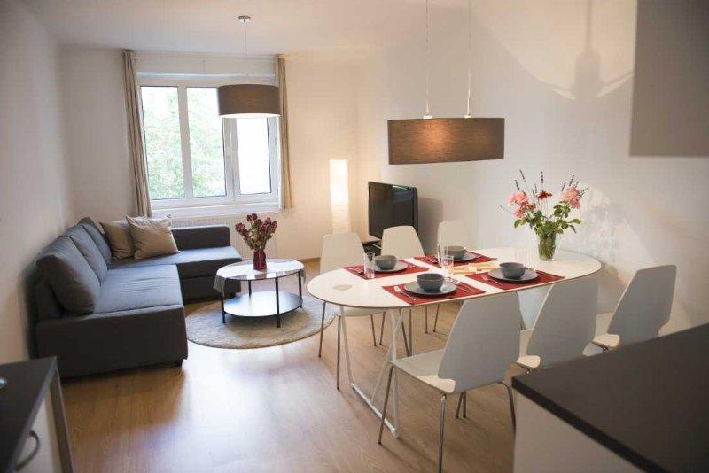 Apartment Wieden plus: living room - Viennaflat Wieden apartments: 4 flats, great place - Vienna - rentals