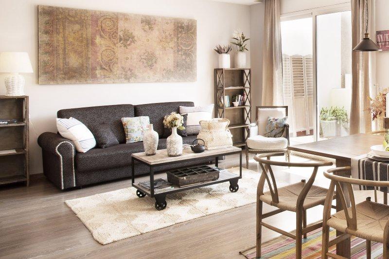 Living Room - BCN Rambla Catalunya Bulevard Penthouse - Barcelona - rentals