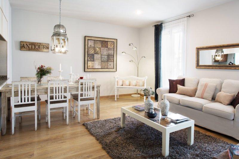Living Room - BCN Rambla Catalunya Campiña (HUTB-003327-80) - Barcelona - rentals