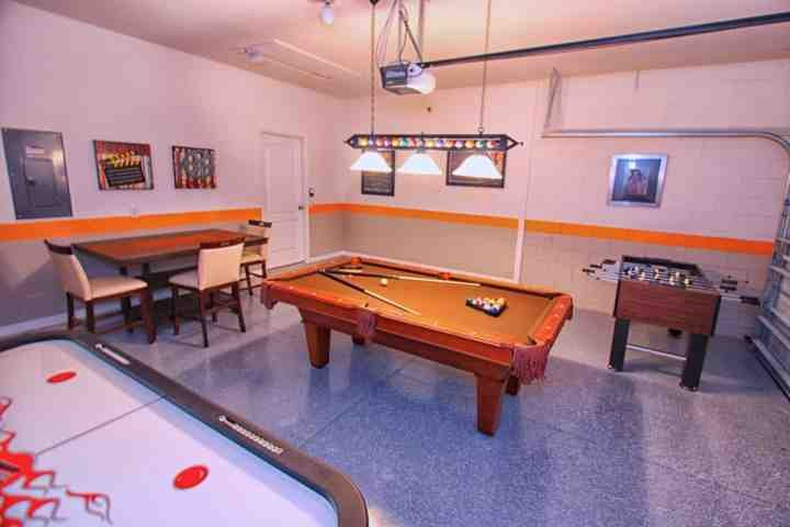 Family Game Room w/Air Hockey, Billiards and Foosball! - 2784 Calabria - Four Corners - rentals